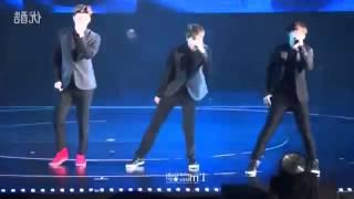 EXO-K (엑소케이) - Thunder (천둥) DANCE TUTORIAL CHORUS PART SLOW MIRRORED (KAI FANCAM)