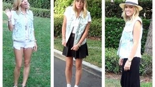 How To Style A Denim Vest: 3 Outfit Ideas! Style By Dani