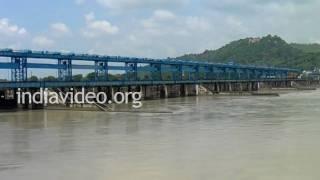 Spillway across Ganga canal, Uttarakhand