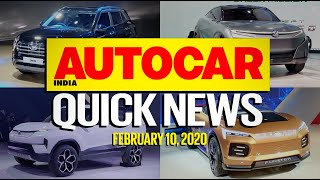 Auto Expo 2020 Highlights - All the best cars & bikes   Quick News   Autocar India