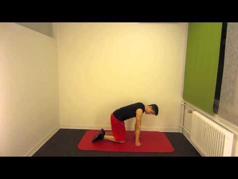 Arthritis des Kniegelenks Übungen