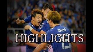 日本代表マジ強い!ウルグアイに4ゴールで勝利!堂安律大迫勇也南野拓実がゴール!中島翔哉も大活躍!サッカー・ハイライト