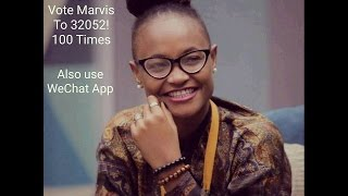 How to Vote Marvis on WeChat App on Big Brother Naija