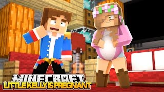 LITTLE KELLY IS PREGNANT!!! Minecraft Our Future Life w/Little Donny (Roleplay)