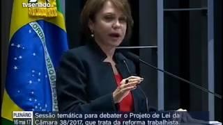 Ângela Portela diz por que considera cruel e socialmente injusta a proposta de reforma trabalhista