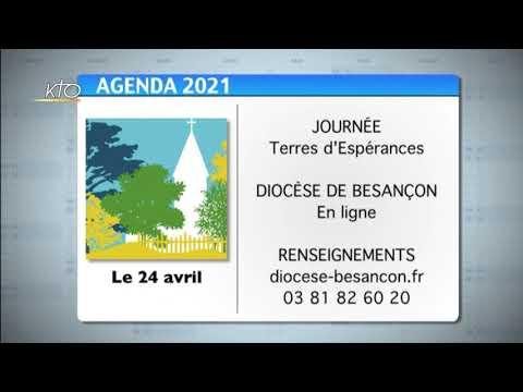 Agenda du 9 avril 2021