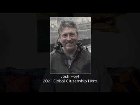 2021 Red Cross Class of Heroes: Josh Hoyt, Global Citizenship Hero