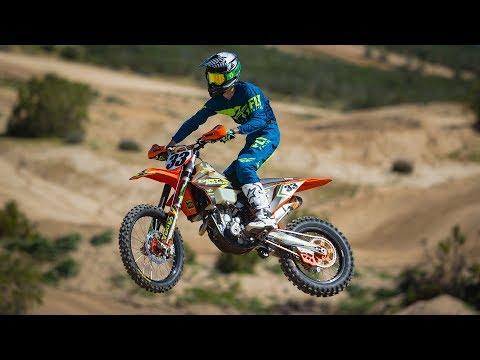 2019 KTM 350 XC-F Project Bike Riding Impression
