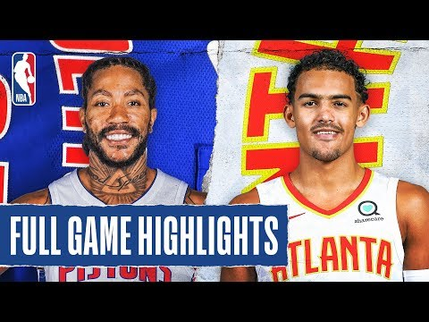 PISTONS at HAWKS | FULL GAME HIGHLIGHTS | January 18, 2020