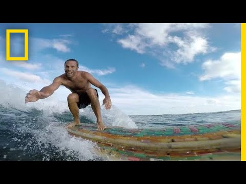Why Jack Johnson Sailed the Sargasso Sea Searching for Plastic | National Geographic