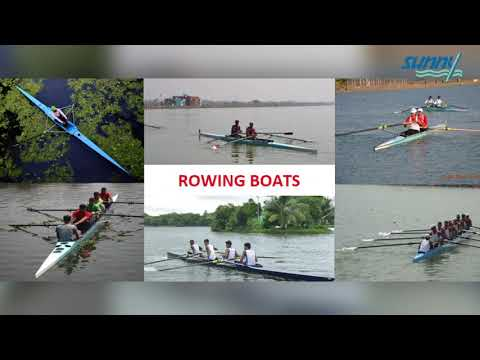 Beginners Single Scull Rowing Boat (Jogger Boat)