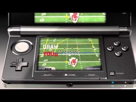 Видео № 0 из игры Madden NFL Football 3D [3DS]