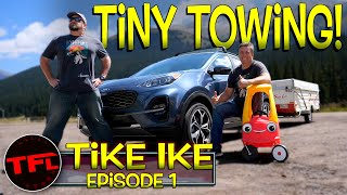The Kia Sportage Takes On The World's Toughest Towing Test...But It's Not What You Think!