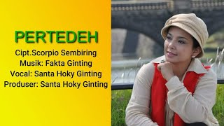Lagu Karo Terbaru 2020 PERTEDEH - SANTA HOKY Ginting ( Official Artist Channels )