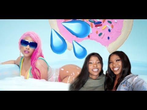VLOGMAS DAY 6 Nicki Minaj - Good Form ft. Lil Wayne REACTION + Behind The Scenes of Reactions