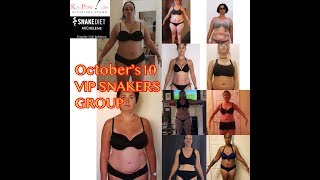 SNAKE DIET Michelene - October's VIP Private Snakers Group Crushing 20-25lbs in 2 weeks