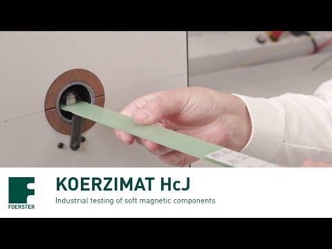Koerzimat 1.097 Hcj/J-h For Measurement Of Coercivity, Hysteresis And Relative Permeability