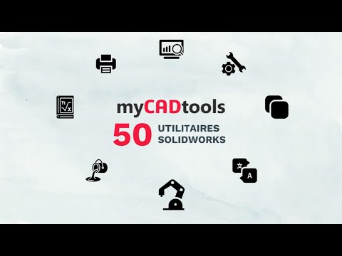 myCADtools – 50 extensions SOLIDWORKS