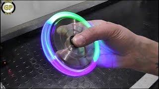 LED Hand Spinner Fidget Toy - Fai da te - Life Hack by Gianni Pirola
