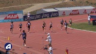 Angers 2019 : Finale 200 m Cadettes (Serena Kouassi en 24''02)