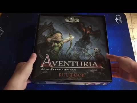 Aventuria - Adventure Card Game - In Depth Unboxing