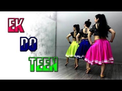 Ek Do Teen | Jacqueline Fernandez, Maduri Dixit, Shreya Ghoshal | SK Choreography