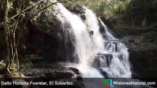 preview picture of video 'Salto Horacio Foerster, El Soberbio. Misiones Natural'