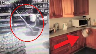 5 Scary Ghost Videos That Will Keep You up Tonight | Unnerving Poltergeists...