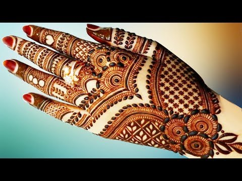 New Stylish Simple Easy Mehndi Henna Designs For Beginners Best