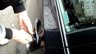 How to unlock BMW