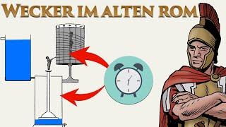 Römer waren pünktlich - Wecker und Uhren im alten Rom