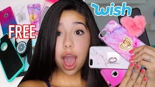 Unboxing Free IPhone Cases From Wish!