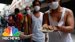 Myanmar Migrant Workers Struggle In Thailand After Lockdown Wipes Jobs | NBC News