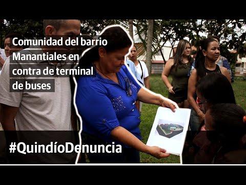 """""""No necesitamos la terminal de buses que va a construir Amable en Manantiales"""": comunidad"""