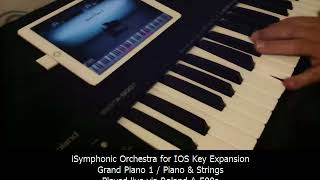ISymphonic Orchestra Grand Piano Live Test - All I Ask Of You / Key Expansion
