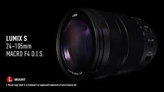 YouTube Video Aw5UYDlupYQ for Product Panasonic Lumix S 24-105mm F4 Macro OIS Lens (S-R24105) by Company Panasonic Corporation in Industry Lenses