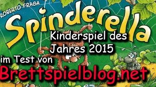 Test & Let's Play: Spinderella - Kinderspiel des Jahres 2015 Roberto Fraga / Zoch zum Spielen Video