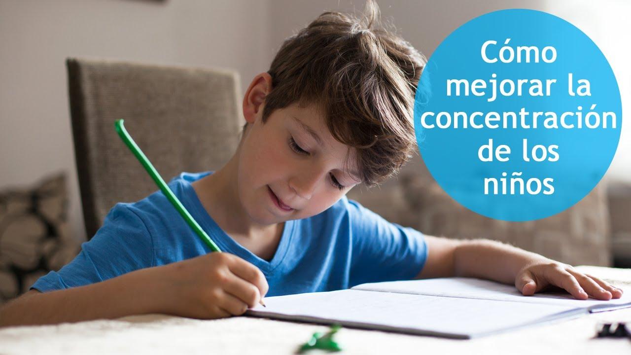 7 consejos para ayudar a los niños a concentrarse