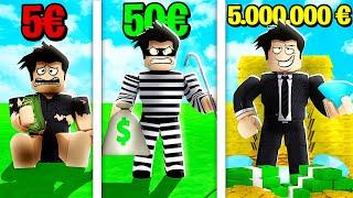 Je vole 5,000,000 € dans Bank Robbery Simulator ! - Roblox