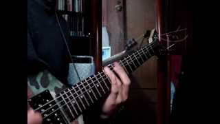 ANNIHILATOR  KING OF THE KILL guitar cover