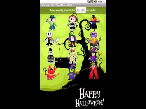 Video of Halloween Party Sound Lite