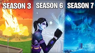 ALL Fortnite EVENTS so far! (From Meteor Impact to Winter Storm)