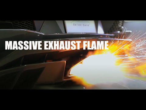 How big exhaust flame have you ever seen? │ipe Exhaust