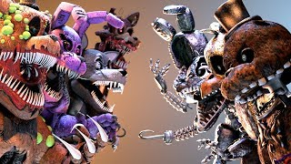 FNaF Twisted vs Ignited Animatronics