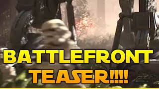 Star Wars Battlefront (3) DICE: First Reveal Footage!