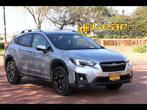 Subaru XV review   סובארו XV מבחן דרכים