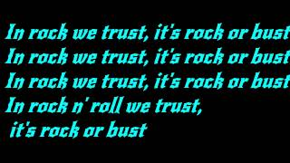 AC/DC - Rock or Bust Lyrics(HD)