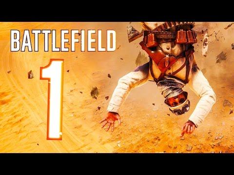 Battlefield 1 - Random & Funny Moments #1 (Zepplin Gone Mad, Flying Soldiers!)