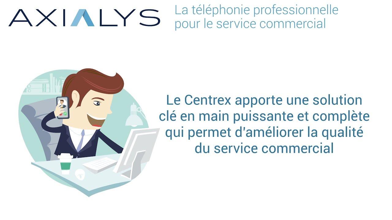 La Téléphonie professionnelle pour le service commercial
