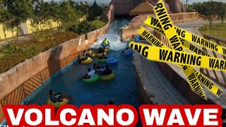 "Xtreme Volcano Wave || Wet ""n"" Joy Lonavala 